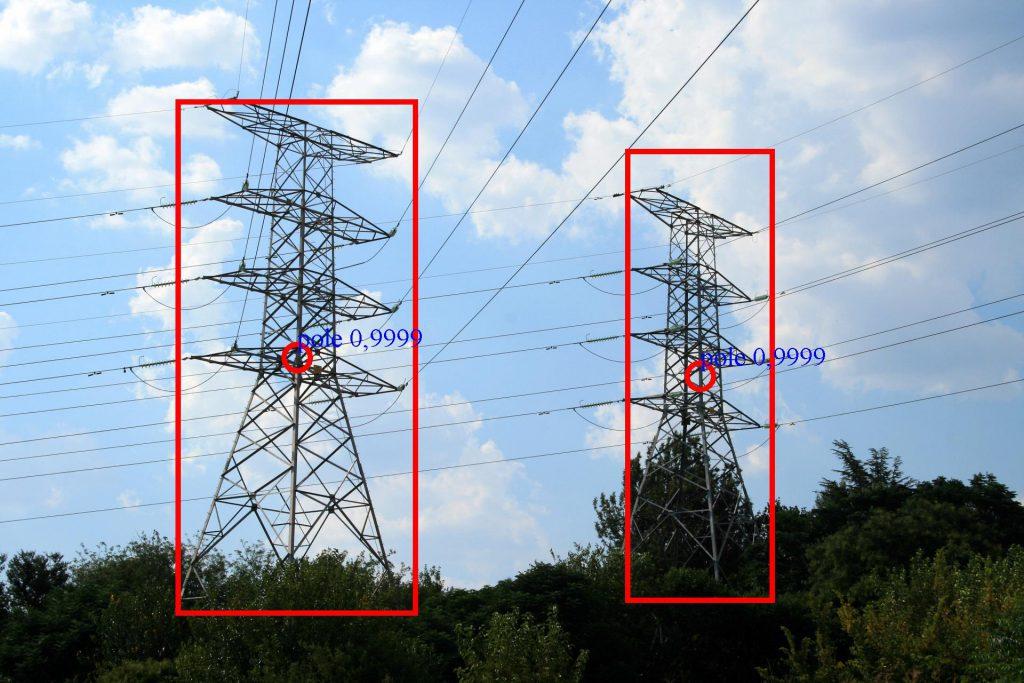 Detección de líneas eléctricas mediante IA