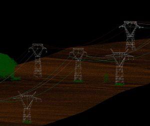 Proyecto LiDAR lineas eléctricas Africa