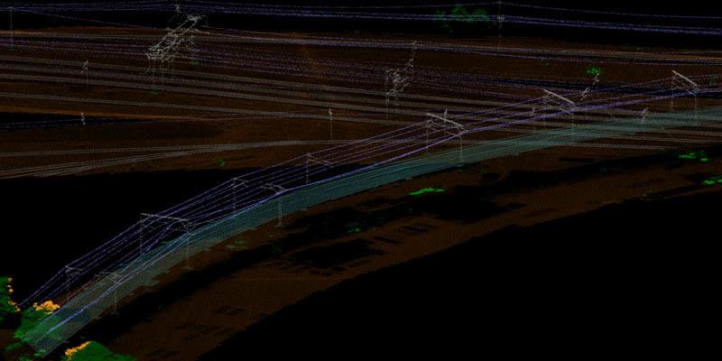 LiDAR para mantenimiento de redes ferroviarias en Australia