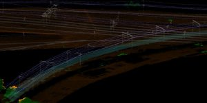 LIDAR project for rail network maintenance in Australia
