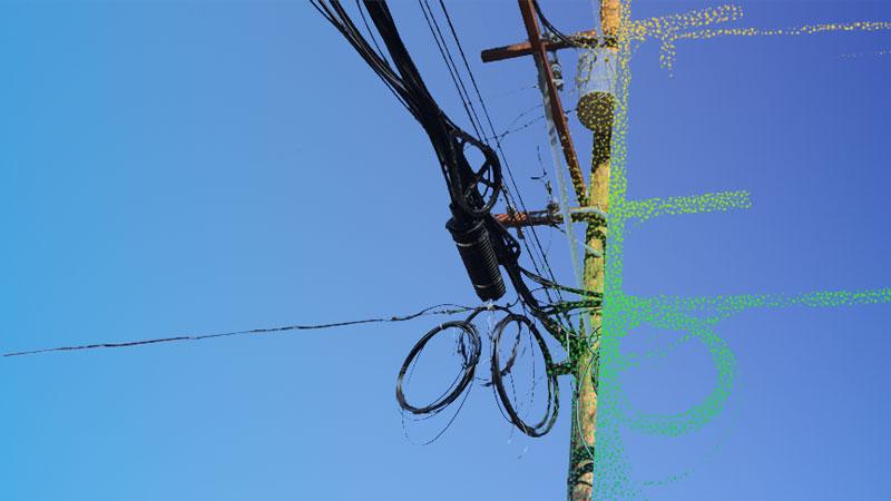 Análisis LiDAR fibra óptica